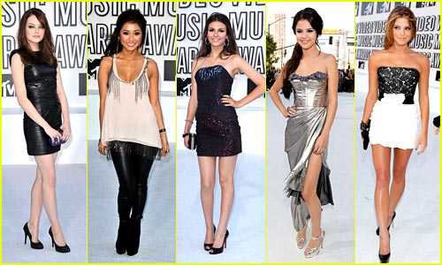 2010 MTV VMAS -- Best Dressed Poll!