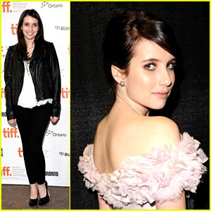 Emma Roberts Premieres 'It's Kind of A Funny Story'
