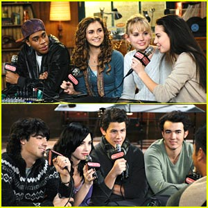 Jonas Brothers & Meaghan Martin: Camp Rock 2 in ONE DAY!