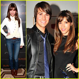 Kelsey Chow & James Maslow: Caviar & Champagne Couple