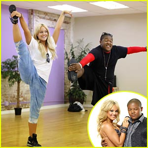 Kyle Massey & Lacey Schwimmer Kick It Up