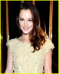 Leighton Meester is Pretty in Pink