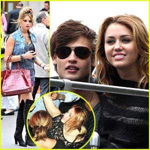 Miley Cyrus is a Paris Partier!