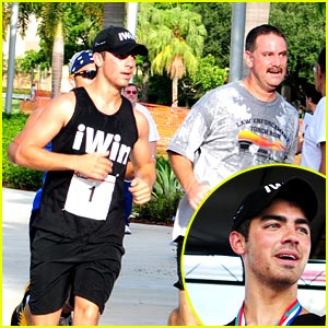 Go Running with Joe Jonas!
