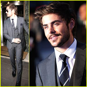 Zac Efron: 'Charlie St. Cloud' Goes to London!