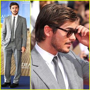 Zac Efron is Deauville Dashing