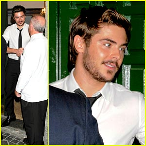 Zac Efron: From Madrid to Munich
