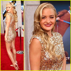 AJ Michalka is 'Secretariat' Stunning