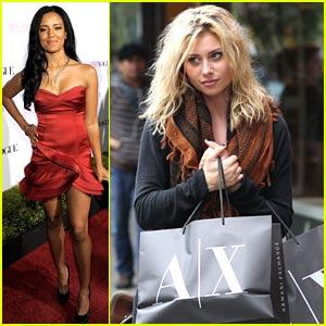 Aly Michalka: Armani Exchange Bag Lady
