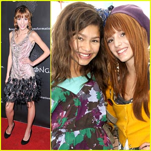 Bella Thorne & Zendaya Shake Up the Party at the Pier