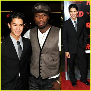Booboo Stewart: Black, White and RED All Over