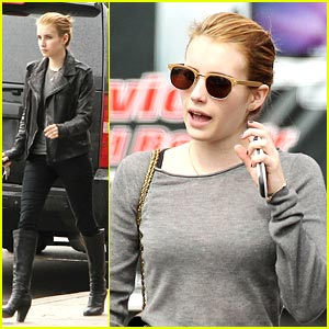 Emma Roberts is a Griddle Girl