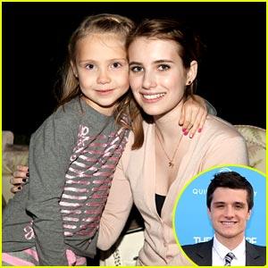 Emma Roberts & Josh Hutcherson are 'Aaron and Sarah'