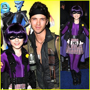 Erin Sanders 'Hits' Up Megamind Premiere