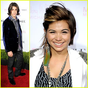 Hayley Kiyoko & Blake Michael: Teen Vogue Party People