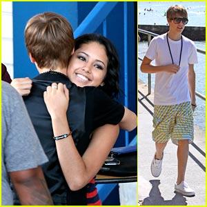Justin Bieber: Hawaii With Jasmine V & Jaden Smith!