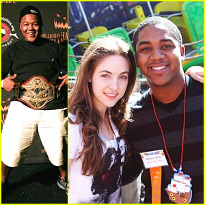 Christopher Massey & Brittany Curran: Special Olympics Supporters