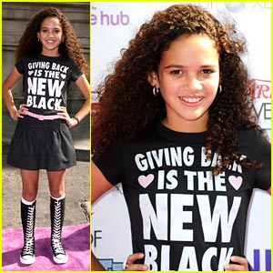 Madison Pettis: Giving Back is the New Black