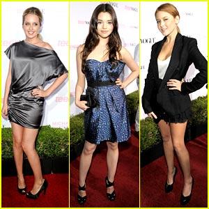 Megan Park, Renee Olstead & India Eisley: Teen Vogue Trio