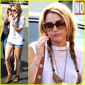 Miley Cyrus: Braided Beauty