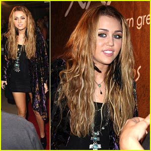 Miley Cyrus Goes Greek For Xandros