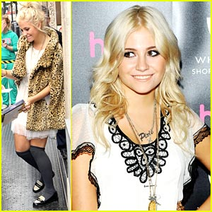 Pixie Lott: From HMV to Habbo Hotel