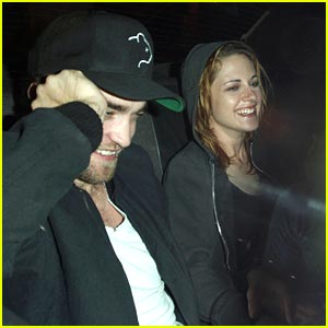 Robert Pattinson & Kristen Stewart: Taxi Tickles