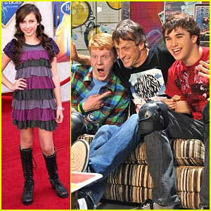 Ryan Newman: Tony Hawk Guest Stars on Zeke & Luther!