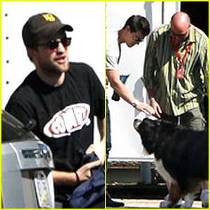 Taylor Lautner &#038; Robert Pattinson: 'Breaking Dawn' Baton Rouge Set!
