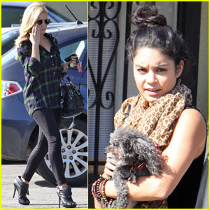 Vanessa Hudgens & Brittany Snow: Mid-Day Date!