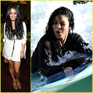 Vanessa Hudgens: Splishing & Splashing in the Surf