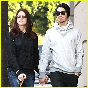 Ashley Greene: Joe Got Us Caught by Airport Security