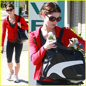 Ashley Greene Pumps Up with Puma
