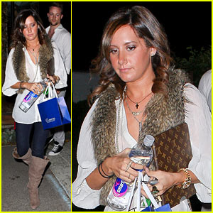 Ashley Tisdale: Salon Visit with a Friend