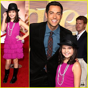 Bailee Madison Gets 'Tangled' with Zachary Levi!
