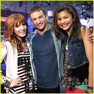 Bella Thorne & Zendaya 'Kick It Up' with Kent Boyd