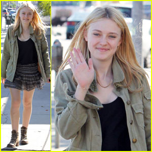 Dakota Fanning: Opening Ceremony Sweetheart