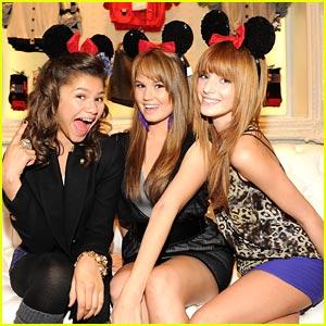 Debby, Bella & Zendaya: Minnie Muse Mates