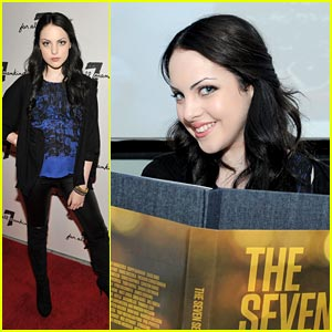 Elizabeth Gillies Loves Her Movies