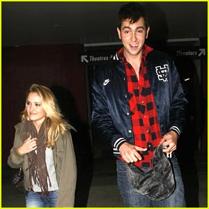 Emily Osment &#038; Nicholas Braun: Movie Mates