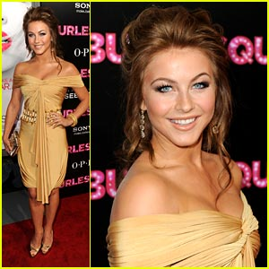 Julianne Hough: Burlesque Beauty