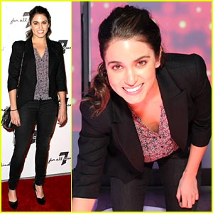 Nikki Reed Celebrates 7 For All Mankind