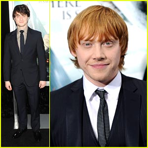 Daniel Radcliffe & Rupert Grint: Harry Potter Takes New York!
