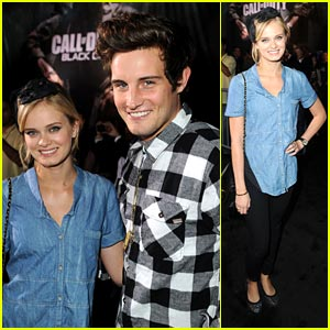 Sara Paxton & Nico Tortorella Follow The Call of Duty