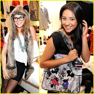 Shay Mitchell & Renee Olstead: Minnie Muse Launch Party!