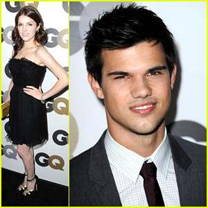 Taylor Lautner & Anna Kendrick: GQ Party Pair