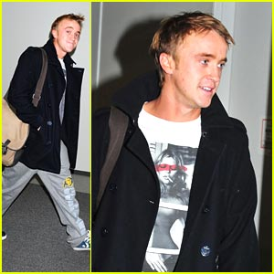 Tom Felton Eats His Words