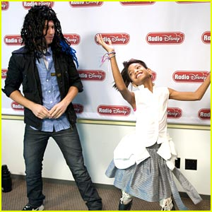 Willow Smith 'Whips Her Hair' with Radio Disney