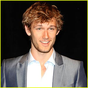 Alex Pettyfer Goes Racing as James Hunt