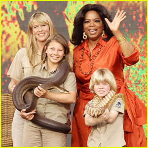 Bindi Irwin: 'Oprah Winfrey Show' Appearance with Family!
